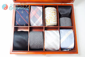 diy tie organizer tie organizer made from tea box