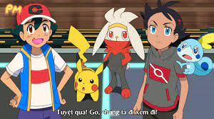 pokemon sword and shield tập 38 vietsub - Sự hồi phục kì tích- Pokemon hóa  thạch-