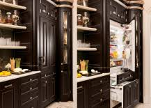 refrigerator that looks like a cabinet. Plain That Up What Looks Like Another Cabinet To Reveal An Icebox Is Pretty Nifty  If Youu0027re Thinking About Installing A Camouflaged Cooler In Your Kitchen Intended Refrigerator That Looks Like A Cabinet T