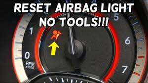 2006 Dodge Ram Airbag Light How To Reset Airbag Light No Tools Required Dodge Chrysler Jeep Fiat