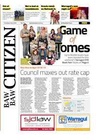 Baw Size Chart Baw Baw Citizen 5 July 2018 By Baw Baw Citizen Issuu