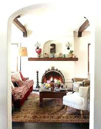 Living Room Spanish Impressive Design Inspiration