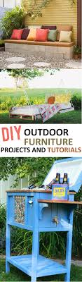 do it yourself furniture projects. DIY Outdoor Furniture Projects And Tutorials Do It Yourself