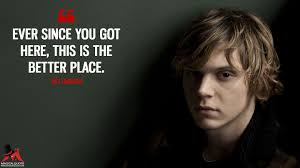 Tate Langdon Quotes MagicalQuote Impressive Tate Langdon Quotes
