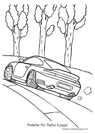 Porsche Coloring Pages Porsche Car Coloring Pages Gt Printable Cars