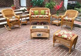 4 piece belair resin wicker furniture