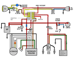 hi any chance of a wiring diagram for a gs 550 chop no indicators kickstart only