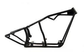 custom chopper bobber motorcycle frame 250 wide tire fits harley