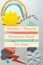 Sun Rainbow Cloud Behaviour Chart Behaviour Chart For