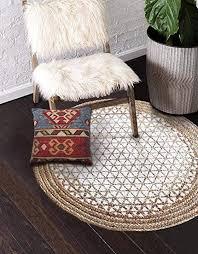 Buy The Home Talk Hand <b>Woven Braided</b> Jute <b>Area Rug</b>, Round ...