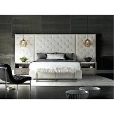 wall bedroom set off white and charcoal 9 piece king bedroom set modern mirror wall unit