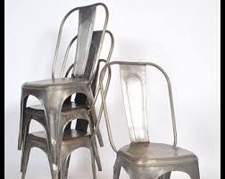 vintage steel furniture. Beautiful Steel Vintage Steel Tolix Style Chairs To Steel Furniture