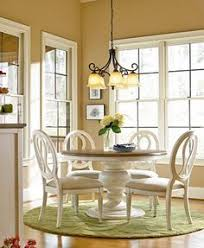 sag harbor round dining furniture 5 pc set expandable round dining pedestal table 4 side chairs