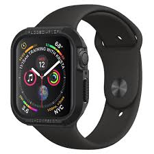 Apple Watch 4 Band Compatibility Chart Apple Watch Series 5 4 44mm Case Rugged Armor Spigen Inc