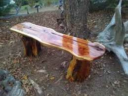 natural wood bench. Brilliant Wood Wooden Utility Bench Natural Cedar Wood Wood By Jimhorak To Bench A
