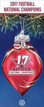 Crimson Tide Christmas Lights Crimson Tide 2017 Football National Champions Glass Ornament