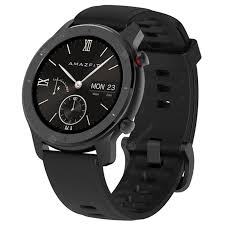 <b>AMAZFIT GTR</b> Black <b>42mm</b> Aluminum Alloy Case Smart Watches ...