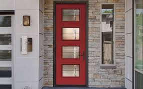 how to paint a door red freshome com