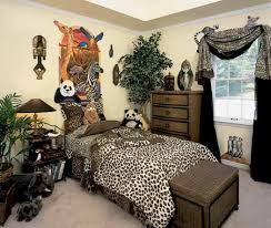 Image of: safari bedroom decorating ideas