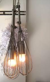 diy kitchen lighting. egg beater to kitchen light decor diy lighting