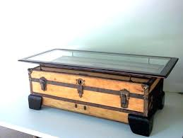 old trunk coffee table vintage trunk coffee table decor of antique trunk coffee table large flat
