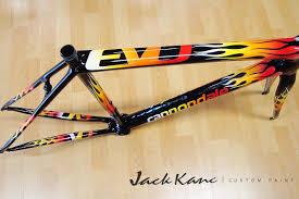 cannondale evo super six custom paint road bike