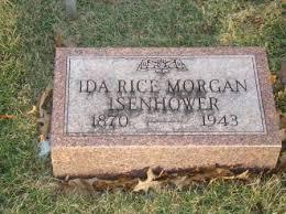 RICE ISENHOWER, IDA JANE - Jefferson County, Iowa | IDA JANE RICE ISENHOWER  - Iowa Gravestone Photos