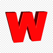 letter alphabet m red text png