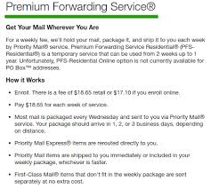 Click to read more about Premium Forwarding Service, from the U.S. Post  Office