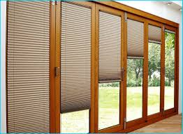 patio sliding gl doors with blinds cool