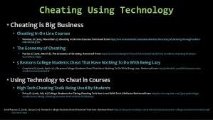 technology in college classrooms academic integrity sept  cheating
