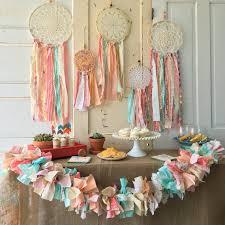 Dream Catcher Party Plates Stunning Nice Design Boho Baby Shower Decorations Dream Catcher Custom Made