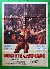 M21 Manifesto 2F Maciste all'Inferno Riccardo Freda Kirk Morris Chanel  Silent | eBay