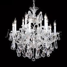 james moder 94722s22 maria theresa royal crystal silver chandelier light loading zoom