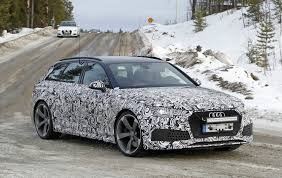 2018 Audi RS4 Wearing Blue paint and Light Camo: Debut Imminent ...