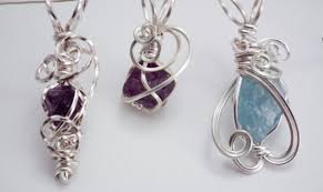 if you re into wire jewelry you probably want to make something out of every little pebble stone and seashell that crosses your path