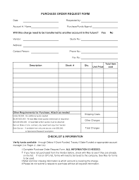 purchase request template