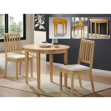 maple wood dining room table. marvelous furniture for living room decoration with various round brown cream leather ottoman : gorgeous small maple wood dining table