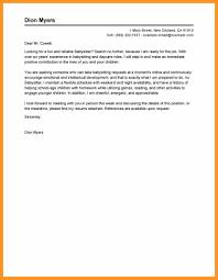 Recommendation Letter For Babysitter Babysitter Reference Letter