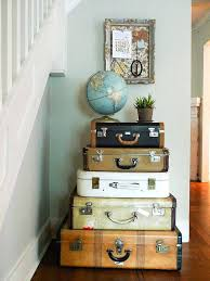 Vintage office decorating ideas Epic Vintage Luggage Picture Home Decor Shabby Chic Office Decorating Ideas Lorikennedyco Vintage Luggage Picture Home Decor Shabby Chic Office Decorating