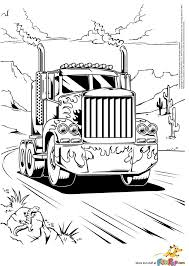 semi trucks coloring pages searches for peterbilt semi truck coloring pages