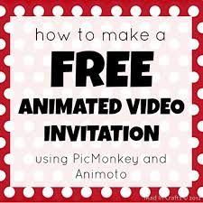 make free birthday invitations online how to make a free animated video invitation mad in crafts