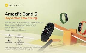 <b>Amazfit Band 5</b> launches as an upgraded and more expensive Mi ...