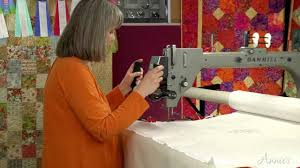 Learn How to Use a Long-Arm Quilting System - an Annie's Video ... & Learn How to Use a Long-Arm Quilting System - an Annie's Video Class -  YouTube Adamdwight.com