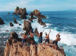 Pantai Gigi Hiu, Lampung! - ROSA GUSFA
