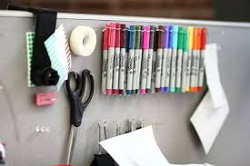 ways to decorate an office. 26. Use T-Pins To Create A DIY Pegboard Organize Supplies. Ways Decorate An Office F