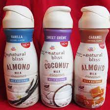 Which coffee creamer will we stock at in? Natural Bliss Non Dairy Creamers Review Almond And Coconut Milk Coconut Milk Coffee Natural Bliss Healthy Coffee Creamer