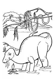 Small Picture Brontosaurus in water coloring pages Hellokidscom