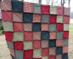 Country Rag Quilts – co-nnect.me & ... Christmas Rag Quilt Rag Quilt Patchwork Rag Quilt Homespun Rag Quilt  Sofa Throw Lap Blanket Country ... Adamdwight.com