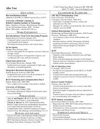 Business School Resume Format Professional Resume Templates